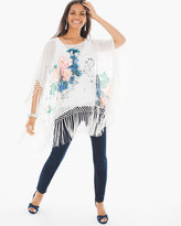 Chico's Gilded Beauty Poncho