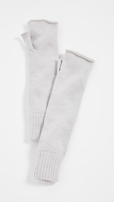 Rosie Sugden Long Ribbed Cashmere Armwarmers