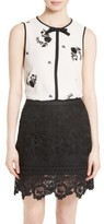 Ted Baker Women's Soo Embroidered Top