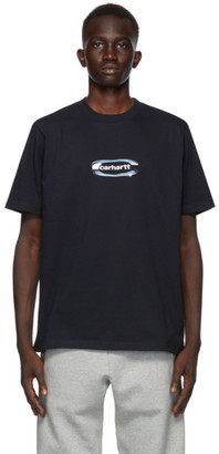 Carhartt Work In Progress Navy Chrome T-Shirt