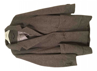 Drykorn Silver Wool Coats