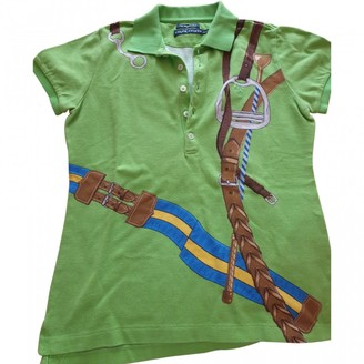 Ralph Lauren Green Cotton Top for Women