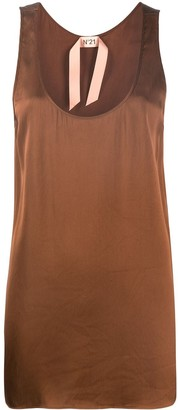 No.21 U-neck tank top