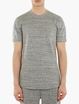 Grey Cotton-jersey T-shirt