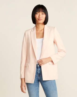 Calvin Klein Scuba Crepe Open Jacket