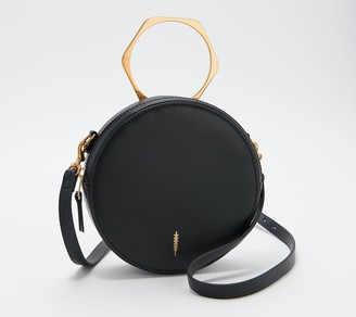 THACKER Convertible Leather Circle Crossbody - Leigh