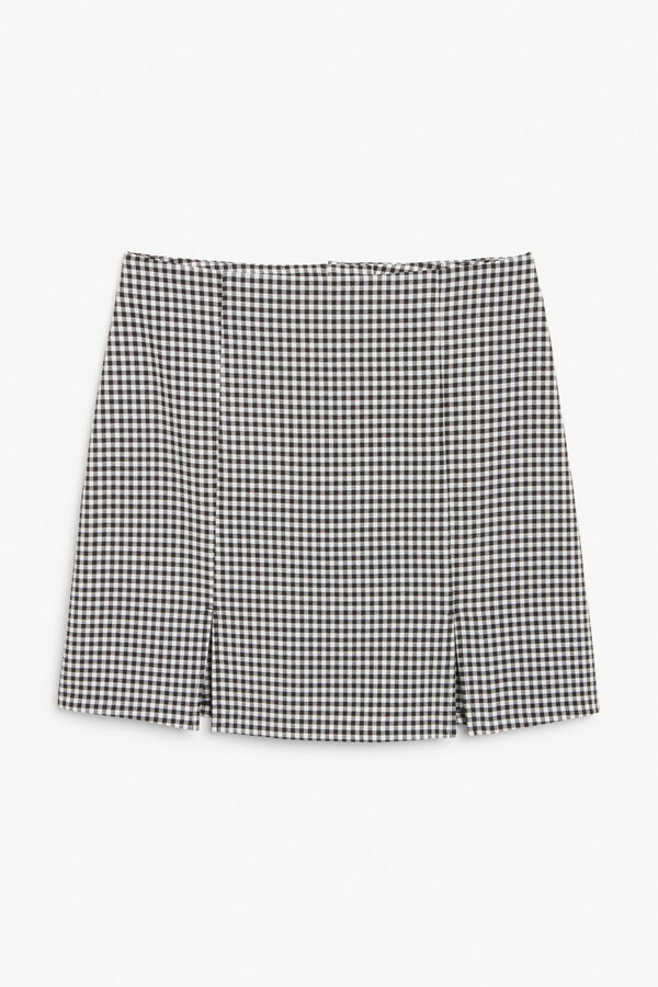 Thumbnail for your product : Monki Fitted mini skirt