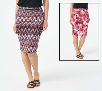 Women With Control Attitudes by Renee Renee's Reversibles Petite Pencil Skirt