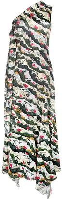 Erdem floral one-shoulder dress