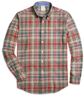 Brooks Brothers Regent Fit Multiplaid Sport Shirt