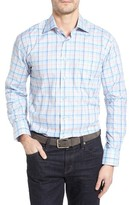 Robert Talbott Men's Robert Talbot Estate Classic Fit Check Sport Shirt