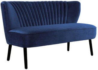 Darcy And Duke Coco Two Seater Sofa French Navy