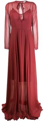 Forte Forte chiffon maxi dress