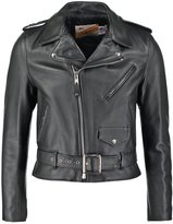 Schott Made In Usa Leather Jacket Black