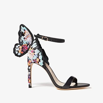 Sophia Webster Chiara Embroidery Sandal (Black/Multi) Women's Shoes