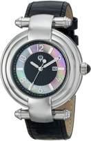 Brillier Women's 31-01 Klassique Analog Display Quartz Black Watch