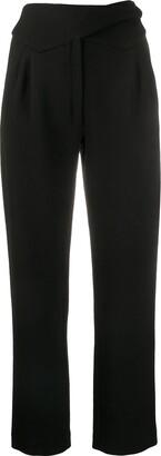 BLAZÉ MILANO Wrap Front Trousers