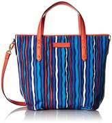 Vera Bradley Preppy Poly Satchel Shoulder Bag