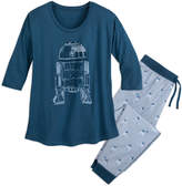 Disney R2-D2 Pajama Set for Women by Munki Munki
