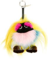 Fendi Bag Bugs charm - women - Fox Fur/Mink Fur - One Size