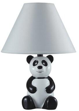 "Zoomie Kids Tunley Panda 14"" Table Lamp"