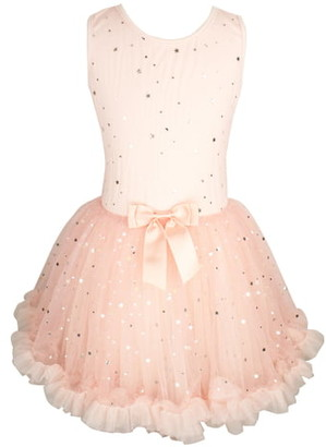 Popatu Metallic Stars Tutu Dress