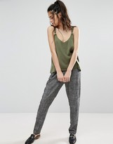 Only Linen Mel Tailored Pants
