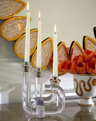 Jonathan Adler Pompidou Acrylic Candleholder