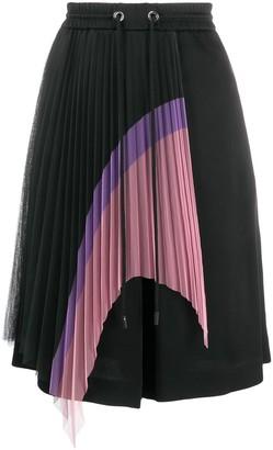 Iceberg Pleated Detail Drawstring Shorts