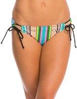 Hobie Striped Surprised Adjustable Hipster Bikini Bottom 8140322