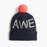 "J.Crew Boys' ""awesome"" beanie hat"