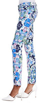 7 For All Mankind The Skinny Kaleidoscope Floral Jeans