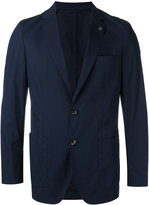 Michael Kors denim blazer - men - Cotton/Nylon/Polyester - 38