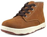 Simple Barney 91l Men Round Toe Leather Boot.