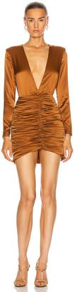 retrofete Brea Dress in Brown | FWRD
