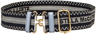 Stella McCartney Webbing Belt in Cameo Blue | FWRD