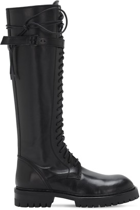 Ann Demeulemeester 30mm Tall Leather Boots