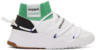 Adidas Originals By Alexander Wang White Puff High-Top Sneakers