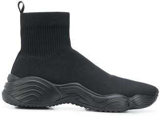 Emporio Armani Alto high-top sneakers