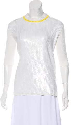 89f1f1d7d1bc Women s Short Sleeve Sequin Top - ShopStyle