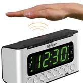 Jensen AM/FM Dual Radio with Wave Sensor Tabletop Clock