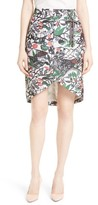 Ted Baker Women's Lexan Crossover Faux Wrap Skirt