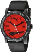 Puma Unisex PU103201010 Move II Analog Display Quartz Black Watch