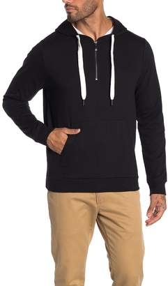 Robert Barakett Anchor Point 1/4 Zip Hoodie