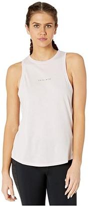 Nike Dry Tank Dri-Blend Yoga 1 (Barely Rose/Summit White) Women's Clothing