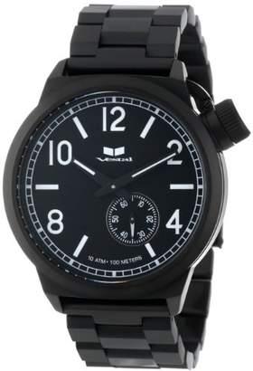 Vestal Men's CTN3M05 Canteen Metal Black Lume Watch