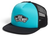 Vans Boy's Classic Patch Trucker Hat - Blue