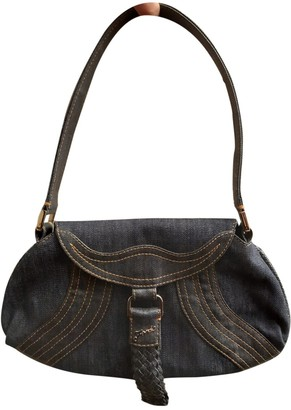 Fendi Spy Blue Denim - Jeans Handbags
