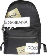 Dolce & Gabbana Logo Print Backpack