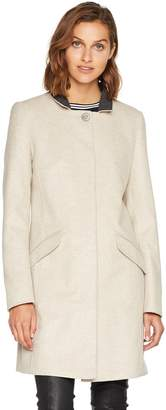 BOSS Women's Okirana7 10174139 01 Trench Long Sleeve Coat